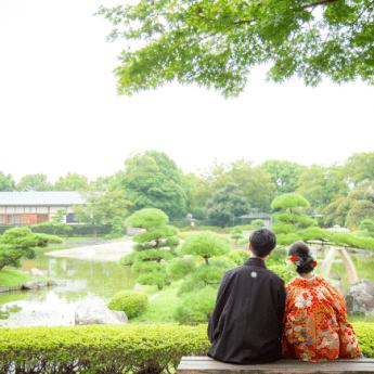 庭園のあるオススメ結婚式場♡東京版の写真