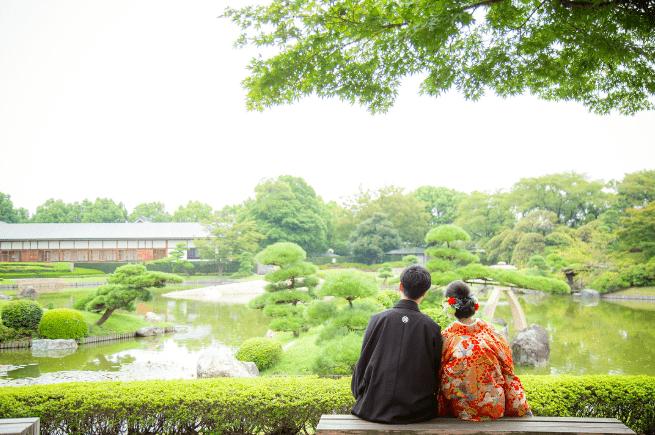 庭園のあるオススメ結婚式場♡東京版のカバー写真 0.6641221374045801