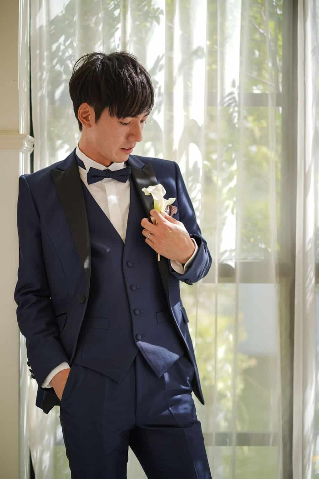 【結婚式】新郎の髪型人気特集*顔型別、服装別おしゃれなヘアスタイルのカバー写真 1.5009765625