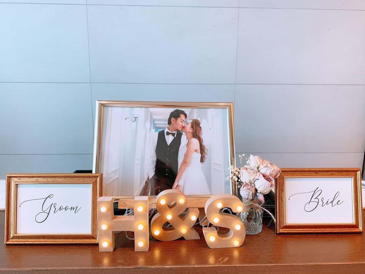 結婚式の受付はなに飾る?おしゃれなアイテム15選**のカバー写真 0.75