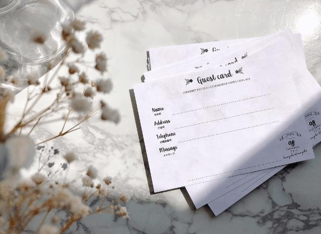 結婚式のゲストカード!気持ちが伝わる文例と書き方アイデアまとめ*のカバー写真