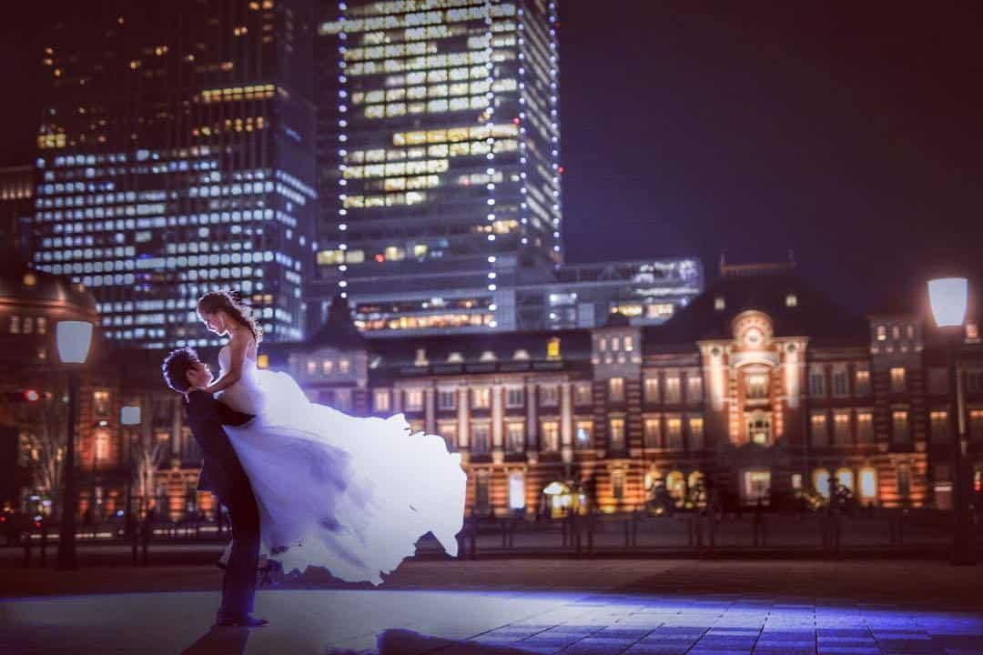 花嫁さんの憧れ♡東京駅周辺のおすすめ前撮りスポット11選のカバー写真 0.6666666666666666