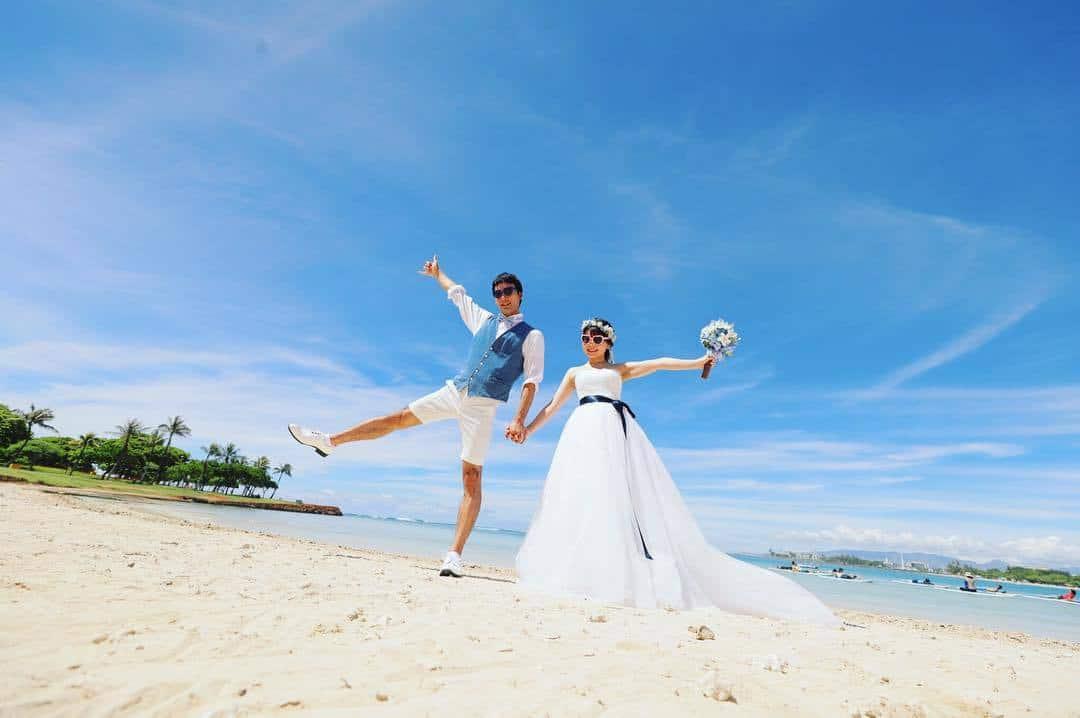 やっぱりハワイ♡新婚旅行の費用からオススメスポットまでのカバー写真