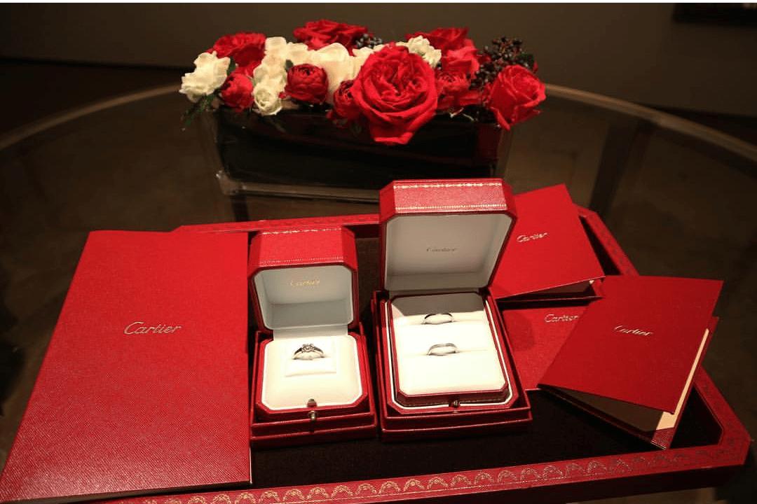 カルティエのブライダルフェアでVIPに指輪選び♡予約から来店まで紹介のカバー写真