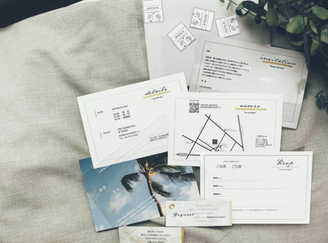 これで完璧!結婚式の招待状、アレルギーがある場合の返信記入例*のカバー写真 0.7408105560791706
