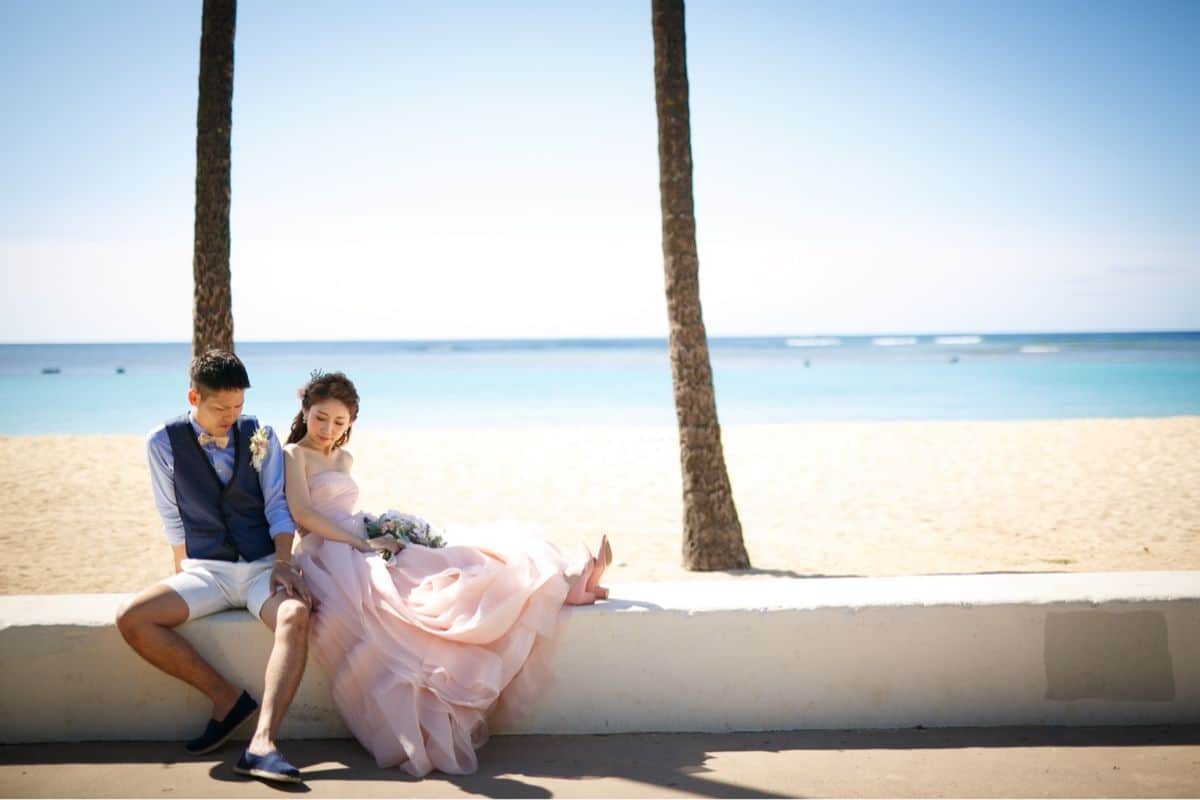 やっぱりハワイ♡新婚旅行の費用からオススメスポットまでのカバー写真 0.6666666666666666