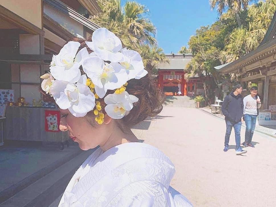 気品漂う*胡蝶蘭を使った和装におすすめのヘアアレンジ10選のカバー写真 0.7502579979360166