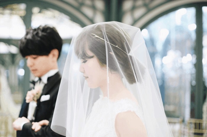 ウェディングドレスに合うベール♡ヘア・ベールタイプ別の髪型35選♬のカバー写真