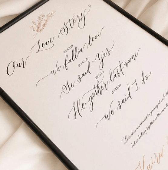 2人の記念日♡ラブストーリーをウェルカムスペースに飾ろう!のカバー写真