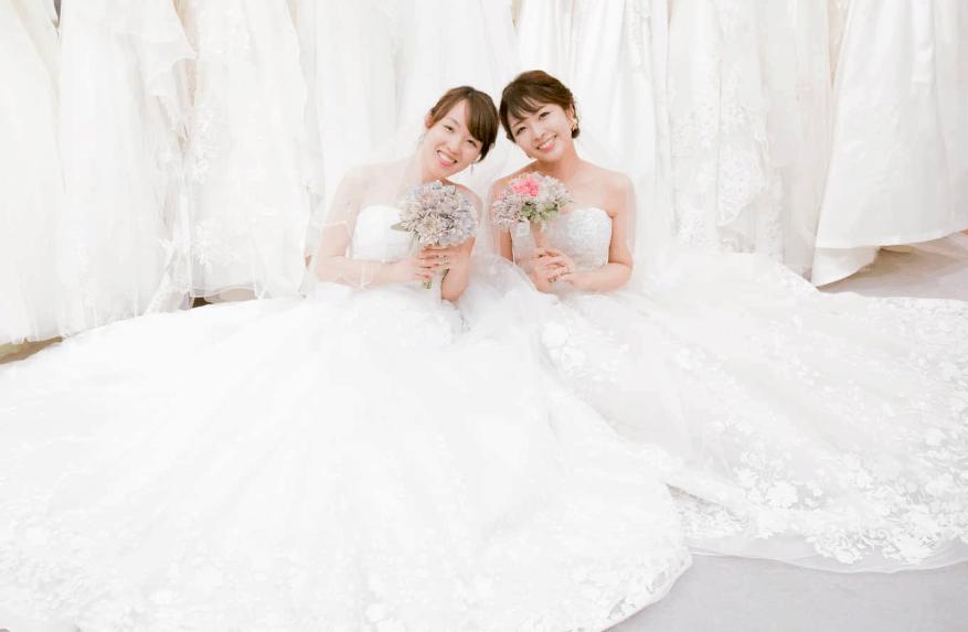 10万円台〜で買える!AIMER(エメ)のウェディングドレス試着レポ♡のカバー写真