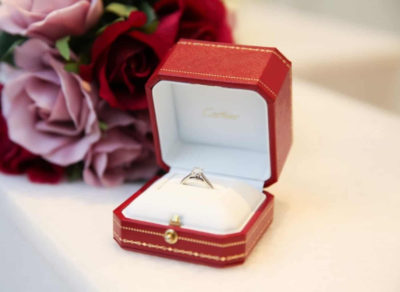 婚約指輪はカルティエが良い!花嫁のリアルな評判・体験を集めました♡のカバー写真 0.731951393852752
