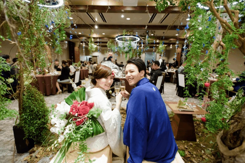和婚をもっとオシャレに♡マネしたい会場装花アイディア10選*のカバー写真