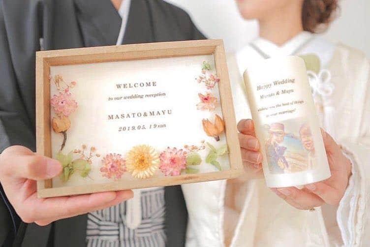 思い出の写真を使った「プリントキャンドル」が結婚祝いに使えそう♡のカバー写真 0.6675531914893617