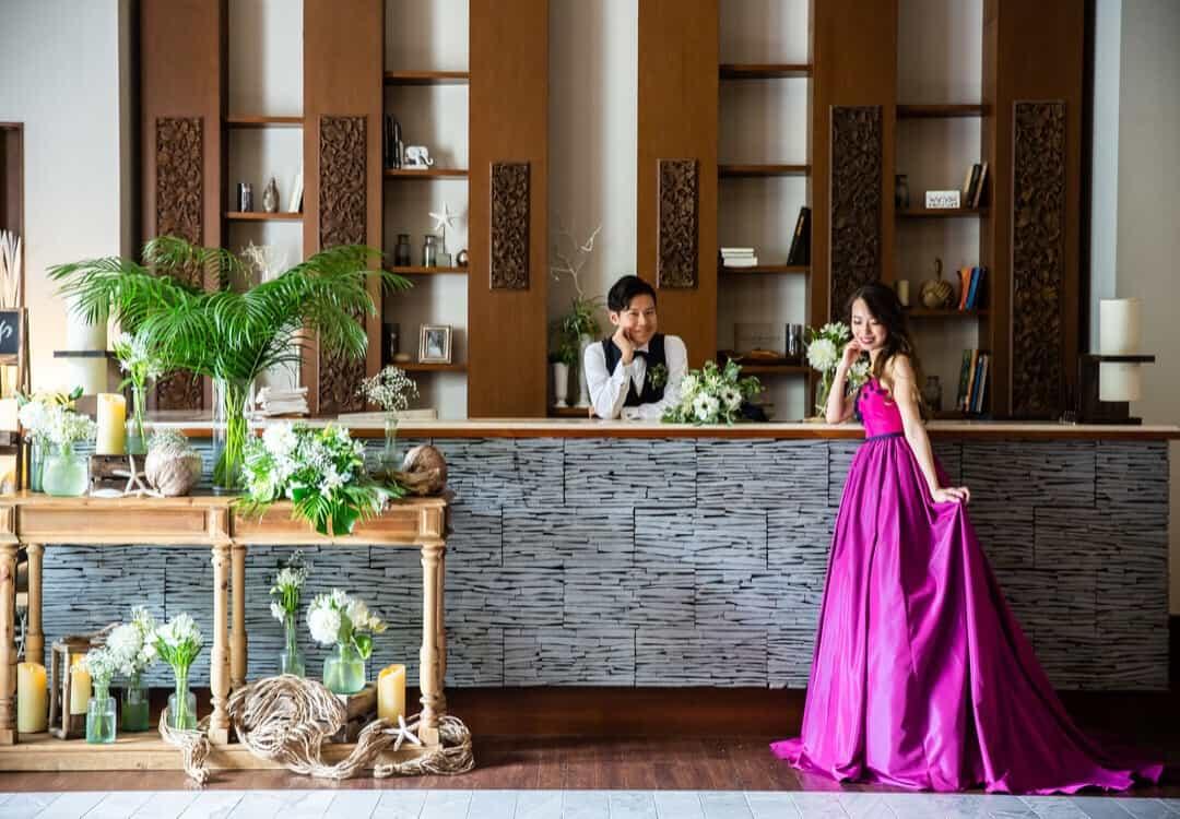 結婚式場を表参道TERRACEに決めた理由!迷った式場はどこ?hzk__mさんにインタビュー♡のカバー写真 0.6944444444444444