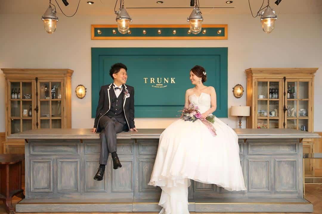 結婚式をTRUNK BY SHOTO GALLERYに決めた理由!迷った式場はどこ?ai_0717_twさんにインタビュー♡のカバー写真