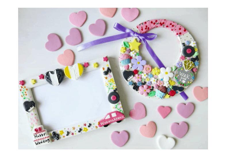 クレイ作品が可愛い♡結婚式に使いたいアイテム10選のカバー写真