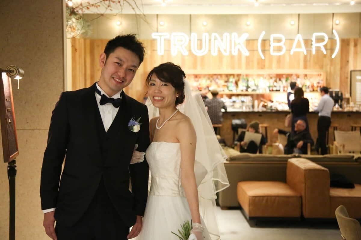 結婚式場をTRUNK HOTELに決めた理由!迷った式場はどこ?1111_weddingさんにインタビュー♡のカバー写真 0.6658333333333334