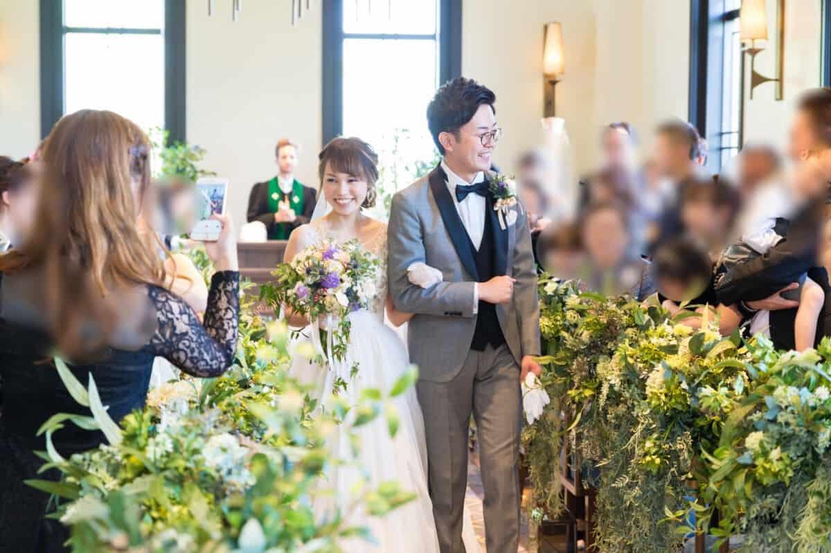 結婚式場をザ ランドマークスクエア大阪に決めた理由!迷った式場はどこ?ts_wedding_さんにインタビュー♡のカバー写真