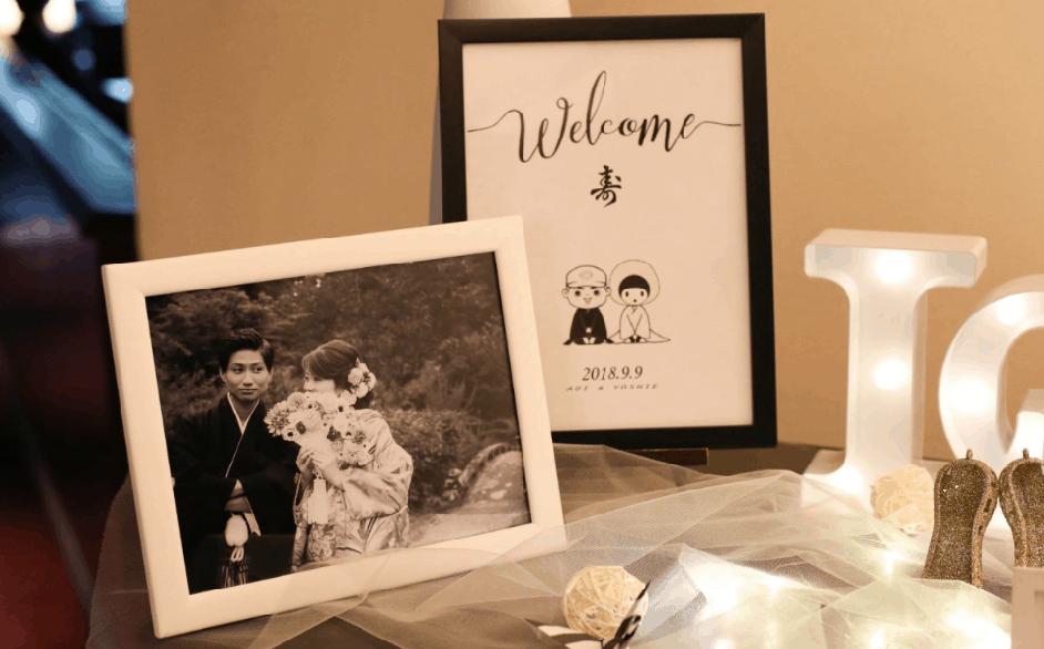 和装する花嫁さん必見♡和風でおしゃれなウェルカムボード10選 のカバー写真