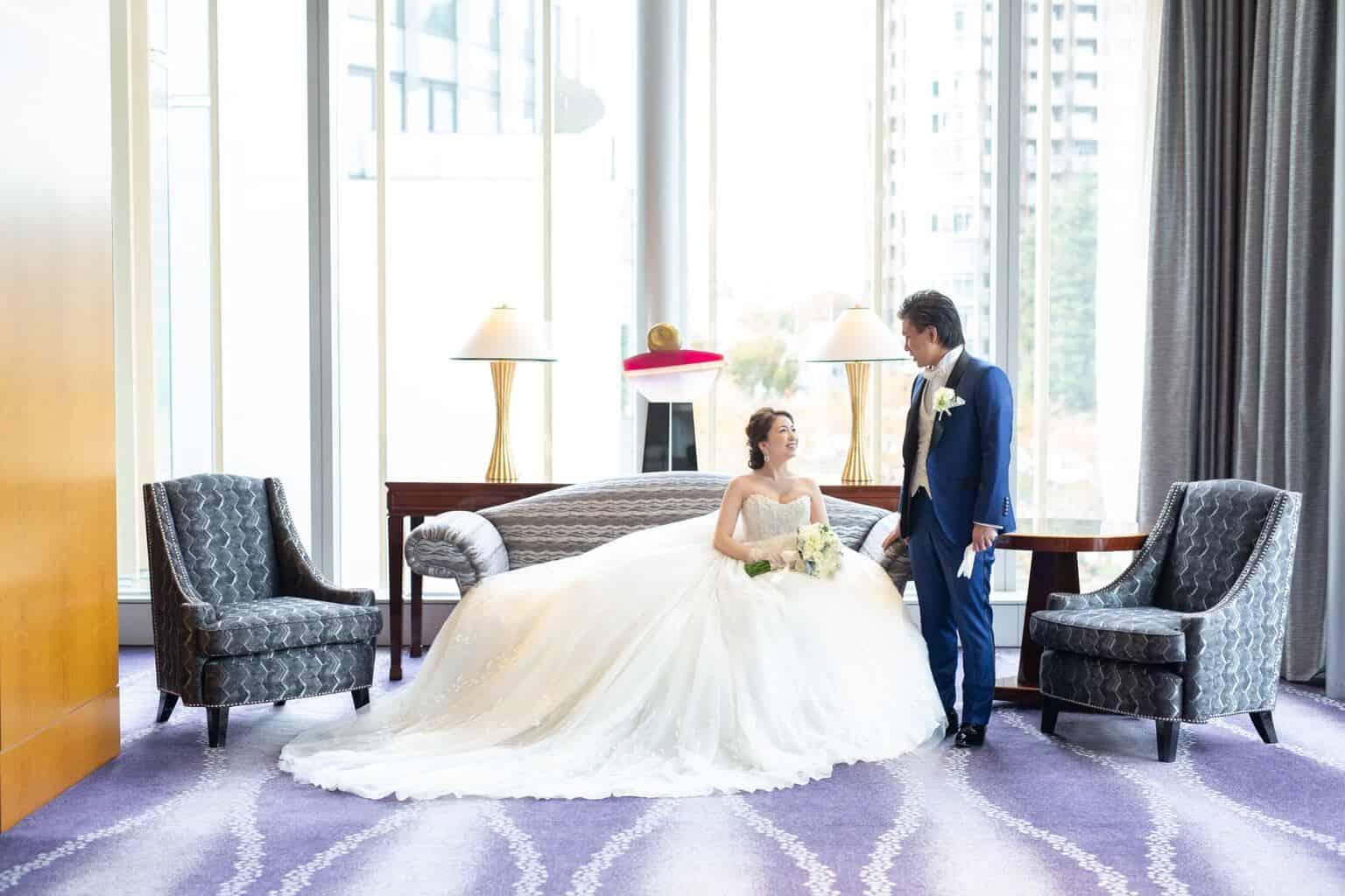 結婚式場をザ・リッツ・カールトン東京に決めた理由!迷った式場はどこ?c___s23weddingさんにインタビュー♡のカバー写真