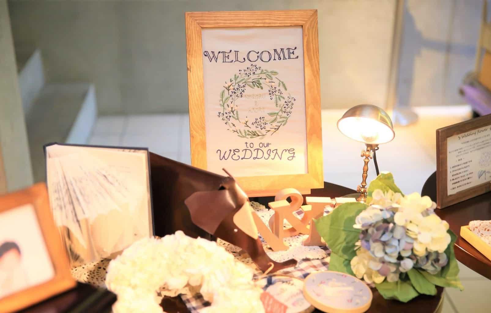 こだわり派花嫁さん必見!オリジナリティあふれるウェルカムボード15選のカバー写真