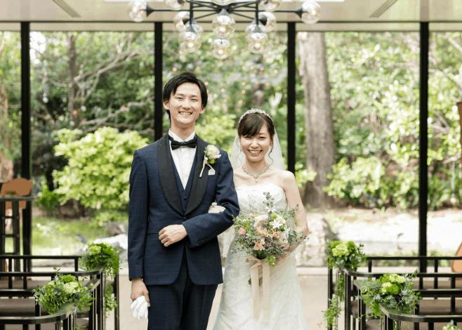 結婚式場をザ・ガーデンオリエンタル大阪に決めた理由!迷った式場はどこ?kuniarisa1224さんにインタビュー♡のカバー写真