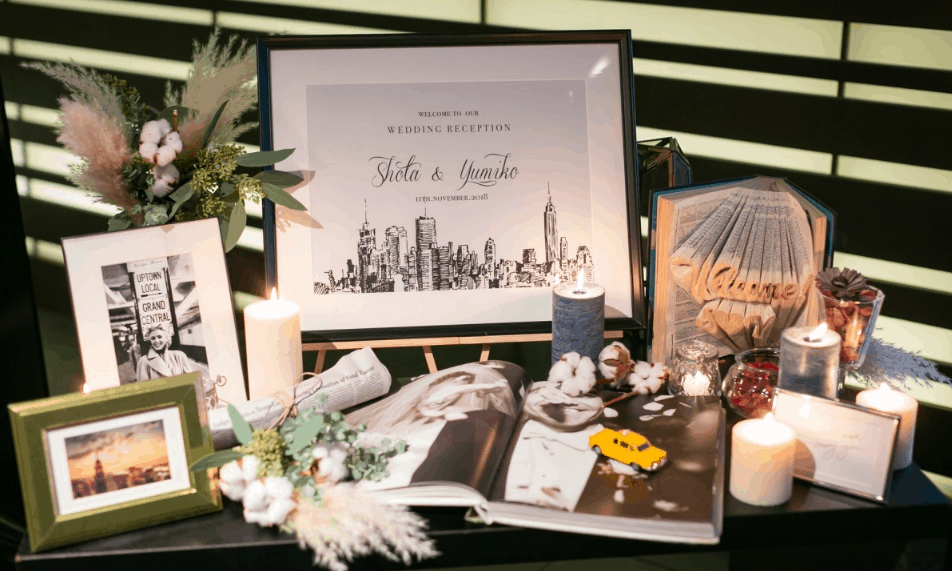 ウェルカムスペースを華やかに♡キャンドルを使った装飾アイディア15選のカバー写真