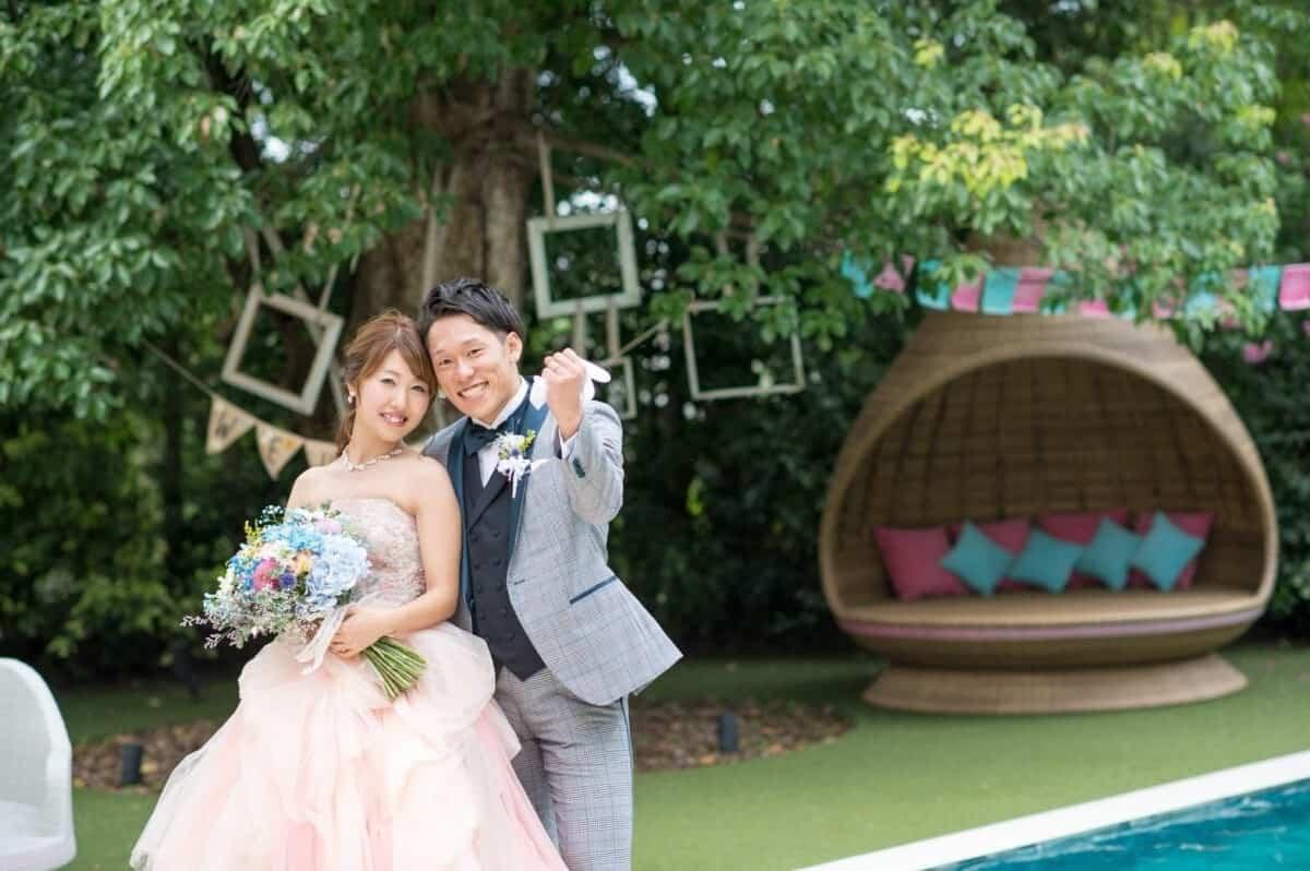 結婚式場をアルタビスタ ガーデン(ALTAVISTA GARDEN)に決めた理由!迷った式場はどこ?suzuka730さんにインタビュー♡のカバー写真