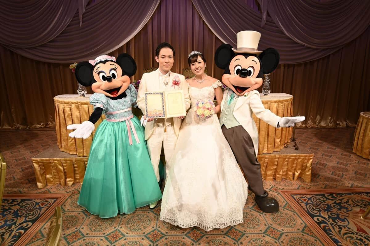結婚式場を東京ディズニーシーホテルミラコスタ®に決めた理由!迷った式場はどこ?anayasugar119さんにインタビュー♡のカバー写真