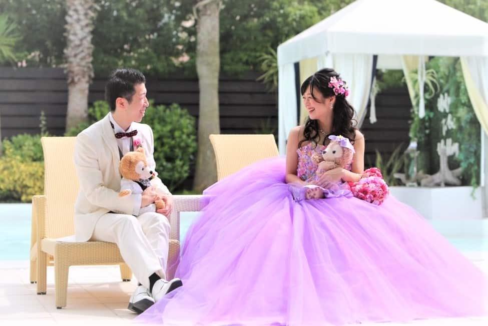 ウェルカムドールにも♡お揃いマイドレスを着せる花嫁さん増加中*のカバー写真