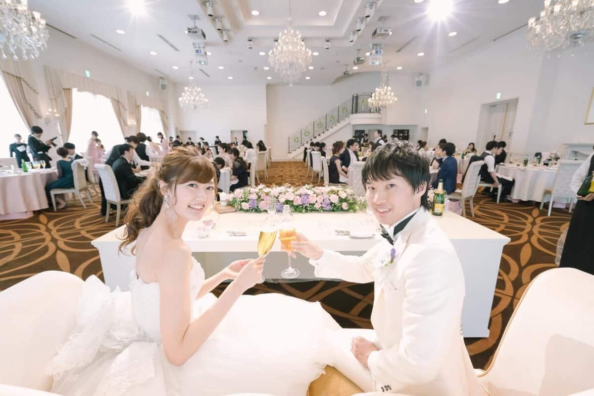 結婚式場を「最高の一日」~Wonderful Wedding~に決めた理由!迷った式場はどこ?mh_wedding511さんにインタビュー♡のカバー写真 0.6658333333333334