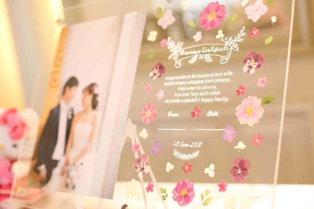 【結婚証明書】人前式に人気のデザイン35選♡テンプレートで簡単手作りしよう!のカバー写真