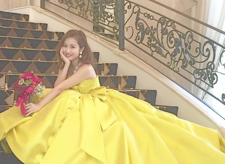 公式インスタで紹介した♡人気の【ピンク・紫・黄色】カラードレス15選♪のカバー写真