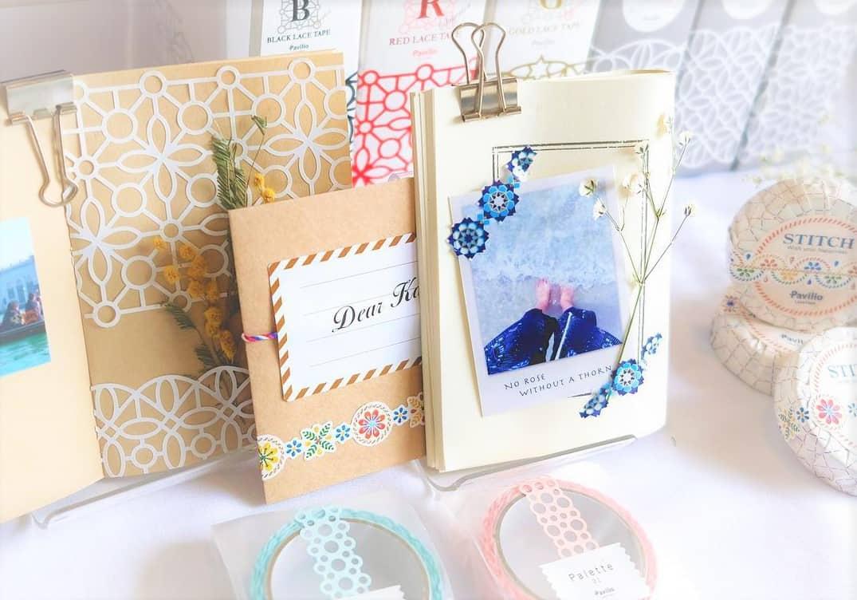 貼るだけ簡単お洒落♡パビリオのレーステープを結婚式に取り入れようのカバー写真 0.6995348837209302
