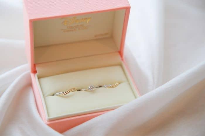 ケイウノでディズニーの婚約指輪/結婚指輪をオーダーメイド♡世界で一つのオリジナルジュエリーのカバー写真 0.6657142857142857
