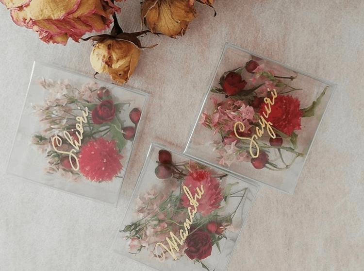 結婚式後も使える小物入れの席札が人気♡おすすめのデザイン13選のカバー写真