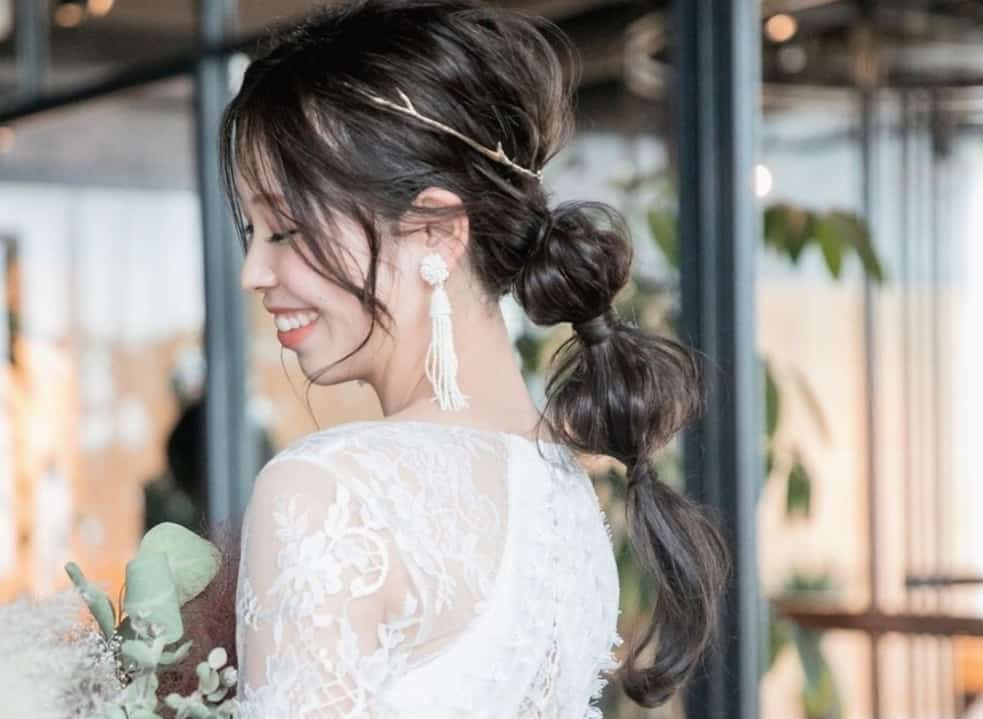 オシャレ花嫁大注目♡ぷっくり可愛い玉ねぎヘアアレンジが結婚式で大流行中!のカバー写真