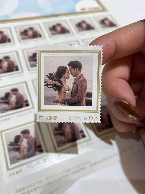 LINEで招待状のオリジナル切手が作れるって知ってた?封筒もおしゃれにDIYしよ♡のカバー写真 1.3330078125