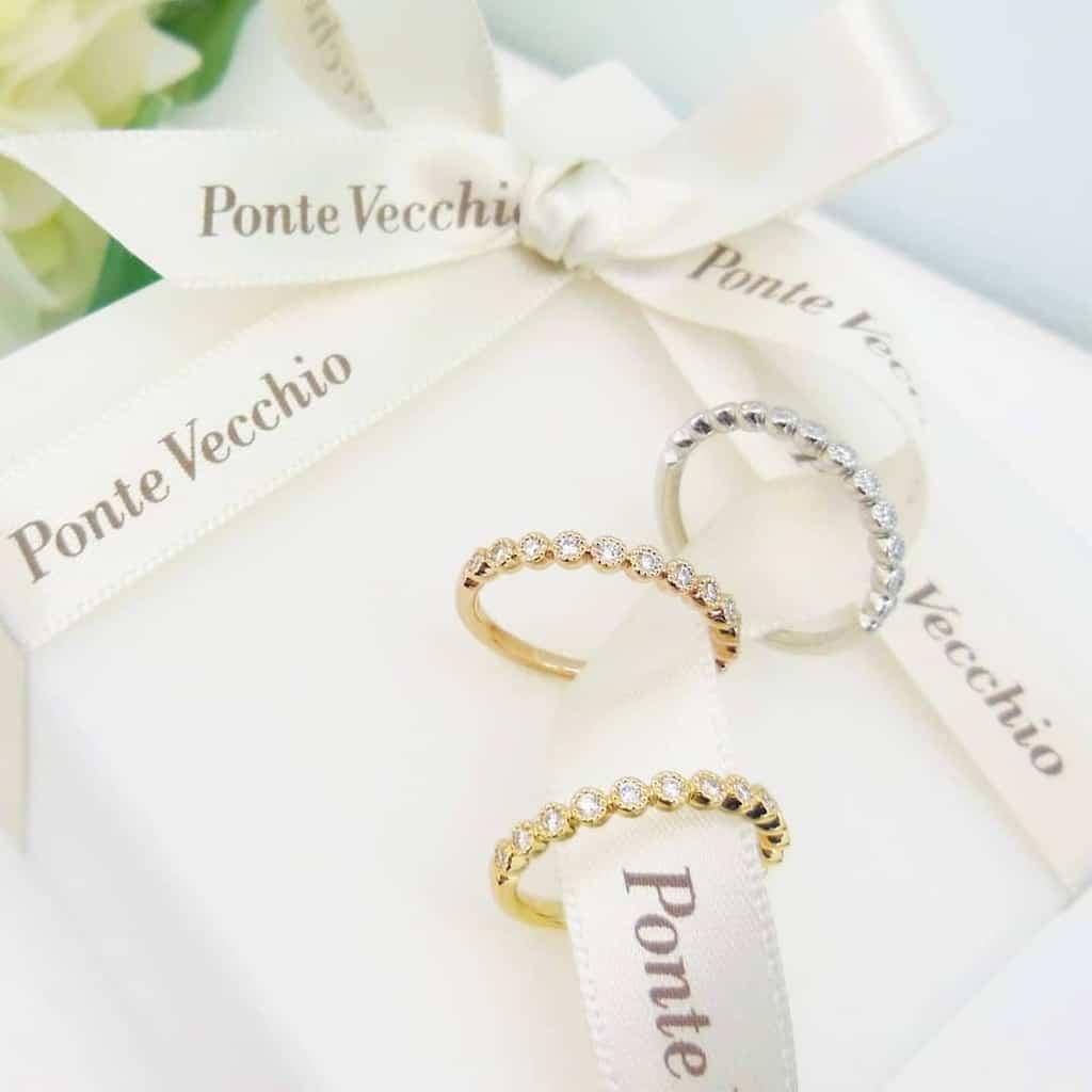 ポンテヴェキオの婚約指輪・結婚指輪がステキすぎ♡日本発ジュエリーブランドのリングを紹介*のカバー写真