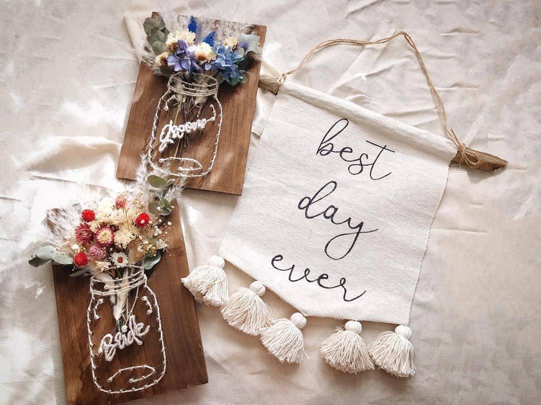釘と糸でつくる【ストリングアート】が花嫁に人気!実例20選を紹介♡のカバー写真