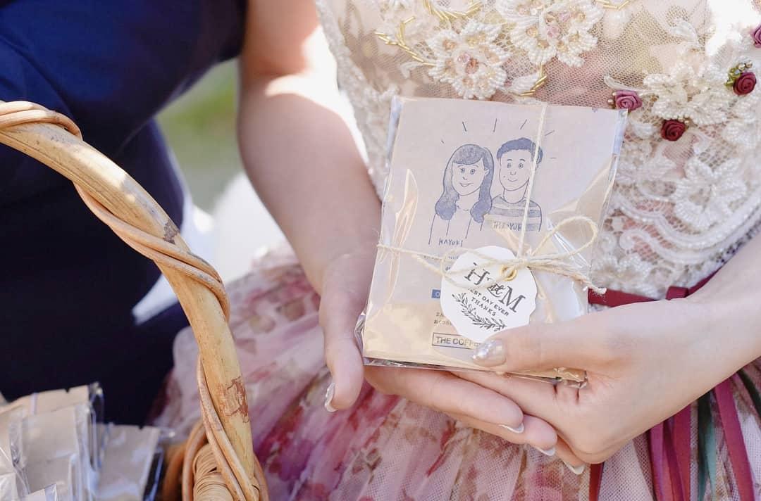 【THE COFFEESHOP】オリジナルドリップバッグのプチギフトがおしゃれすぎる♡のカバー写真