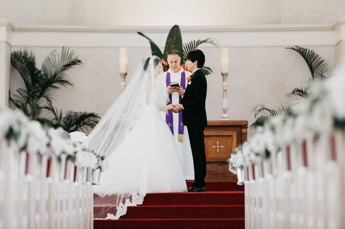 結婚式って何時間かかるの?知っておくと安心*当日の流れと所要時間のカバー写真