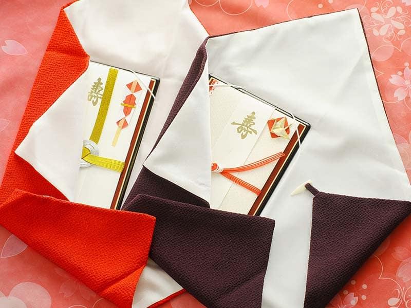 【結婚式】にふさわしい袱紗の選び方と包み方マナー*のカバー写真