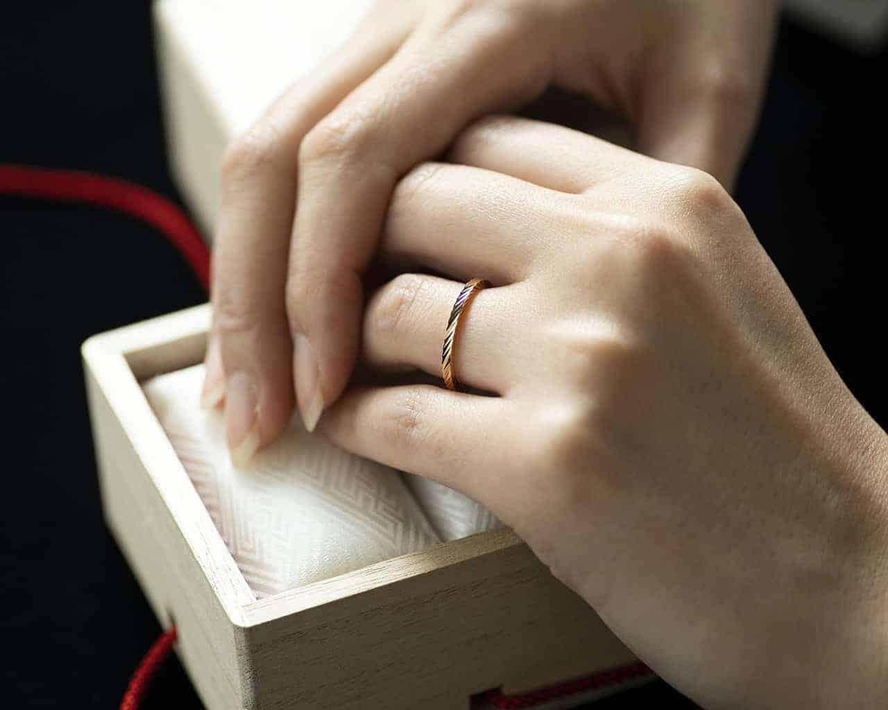 江戸の粋・和の指輪ブランド「TOMOE -巴-」の空間で指輪選びを。【体験レポ】のカバー写真 0.8