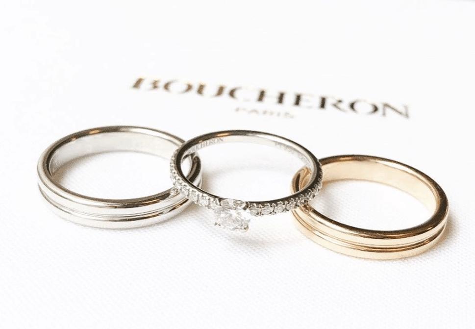 ブシュロンは重ね付けが楽しめる大人上品な結婚指輪【口コミあり♡】のカバー写真