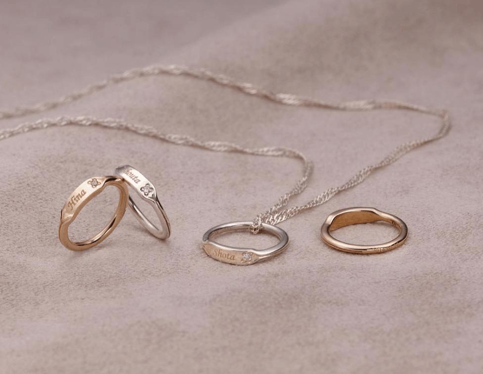 結婚指輪をネックレスに♡傷つけず失くさずリングを着ける方法は?のカバー写真