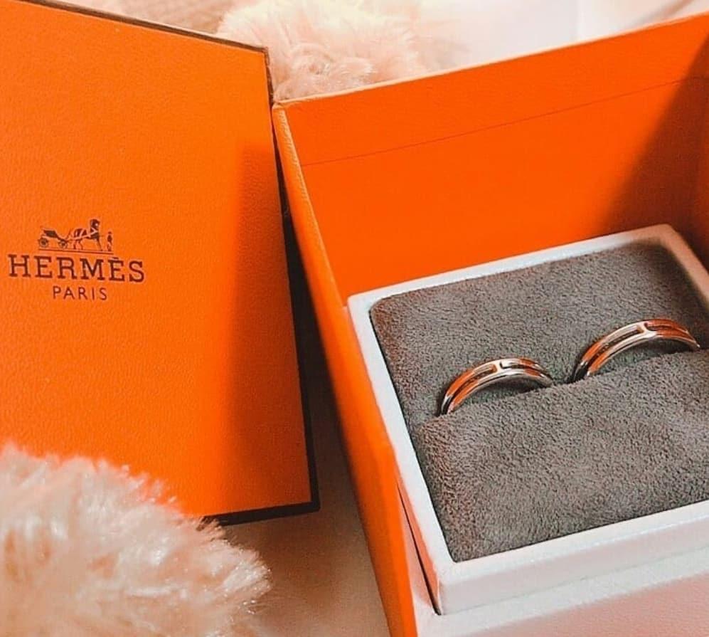 憧れのエルメスを結婚指輪に♡口コミやラインナップをチェックしようのカバー写真