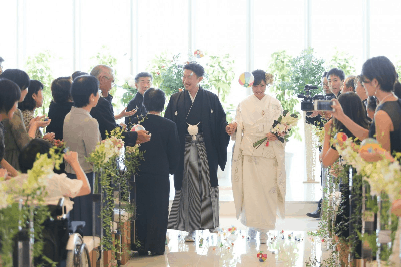 和装結婚式のおすすめ入場曲20選*パターン別に人気のBGMを紹介♩のカバー写真