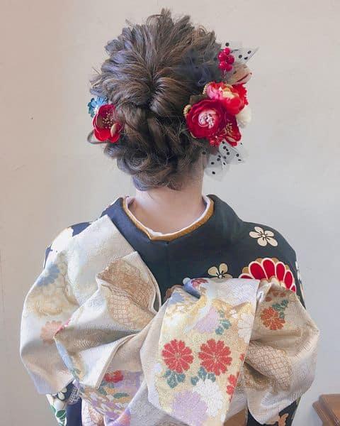 和装に合う髪型12選♡自分でできるヘアアレンジをまとめてみましたのカバー写真 1.25