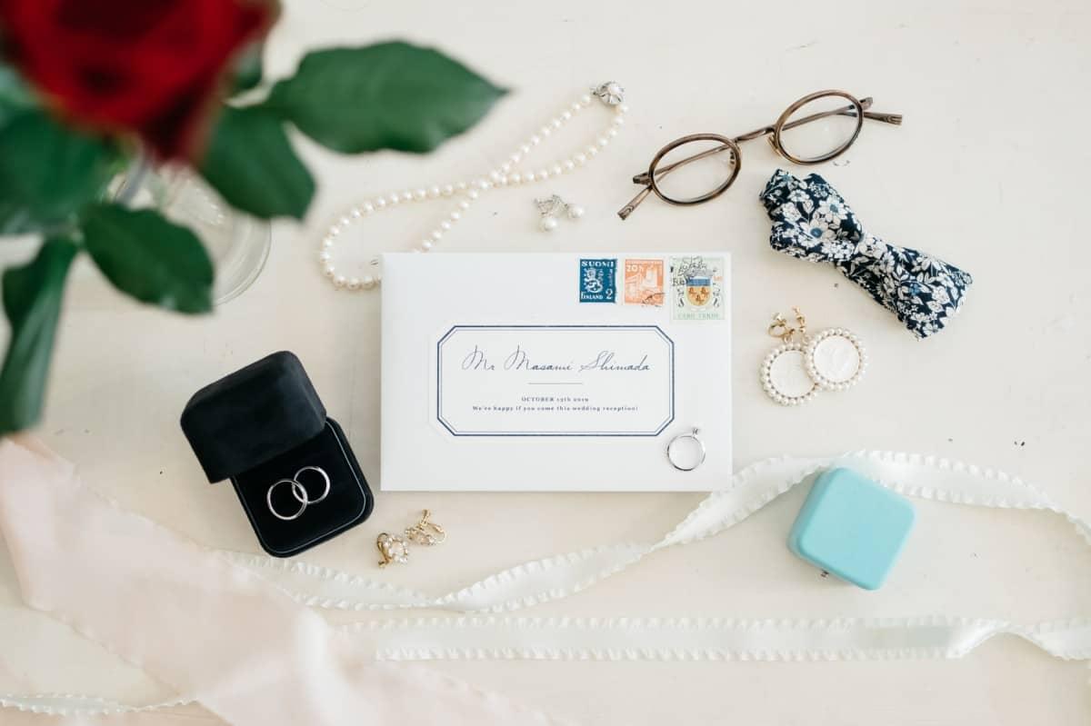 【チェックリスト付き♡】新郎新婦別*結婚式当日の持ち物をまとめてチェック!のカバー写真 0.6658333333333334